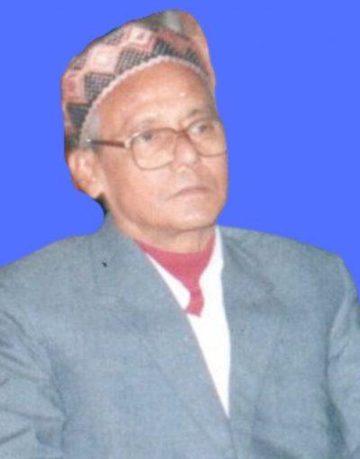 Dr. Nirmal Kumar Choudhury